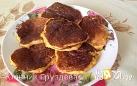 Тыквенно-апельсиновые оладьи