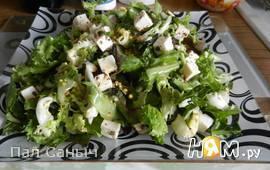 Салатный микс с сыром фета
