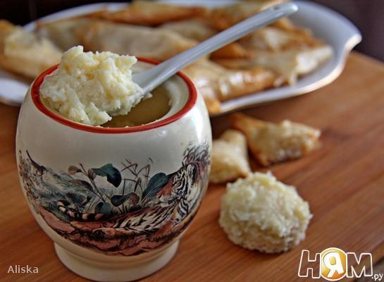Рецепт Кокосовый крем с белым шоколадом