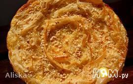 Греческий пирог из теста фило