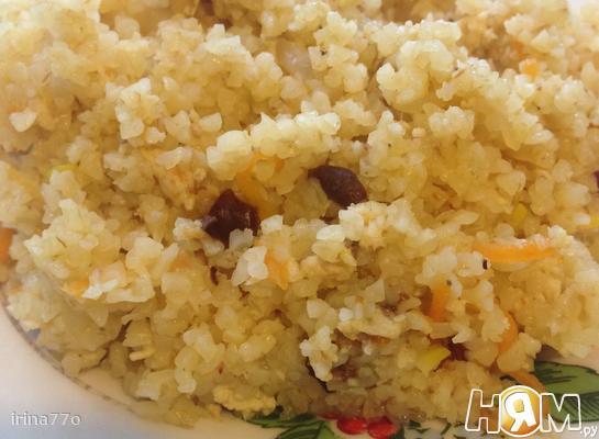 Рецепт Булгур с фаршем и овощами
