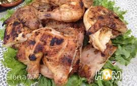 Цыплята - Корнишоны на гриле