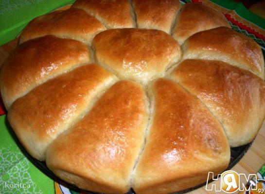 Разборный пирог-цветок с разными начинками