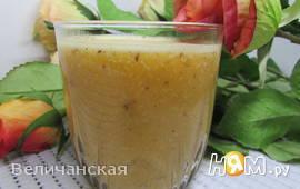 Апельсиново-банановый смузи с миндалём