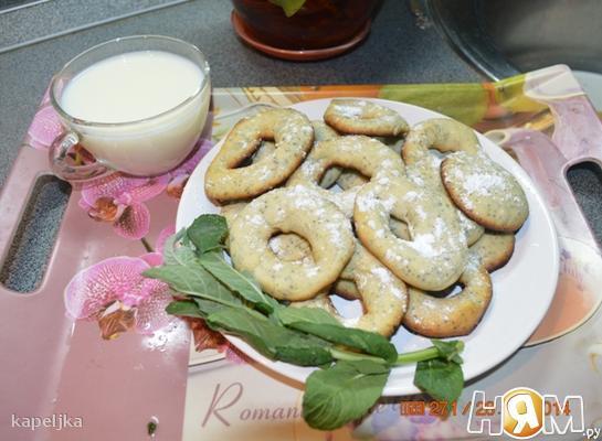 Рецепт Мятное печенье ТОРЧЕТТИ с маком