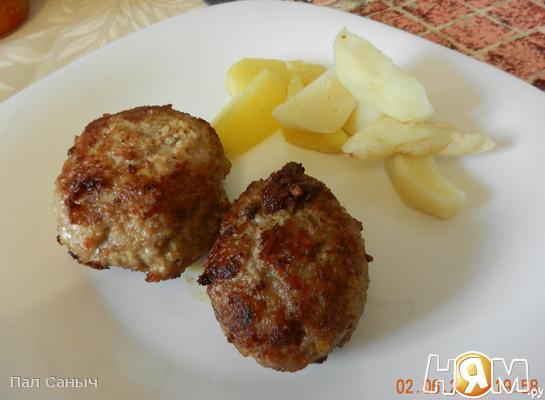 Рецепт Зразы из индейки с сыром Гауда и укропом