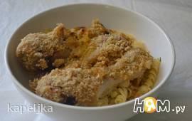 Куриная голень в панировочных сухарях