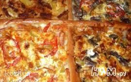 """Пицца """"4 вкуса"""""""