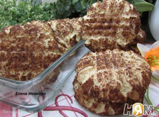 Рецепт Песочное печенье с корицей