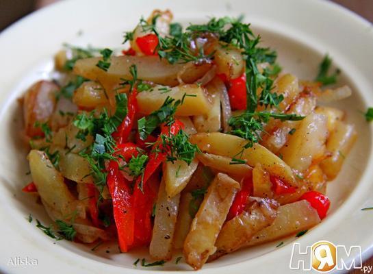 Молодой картофель по-китайски