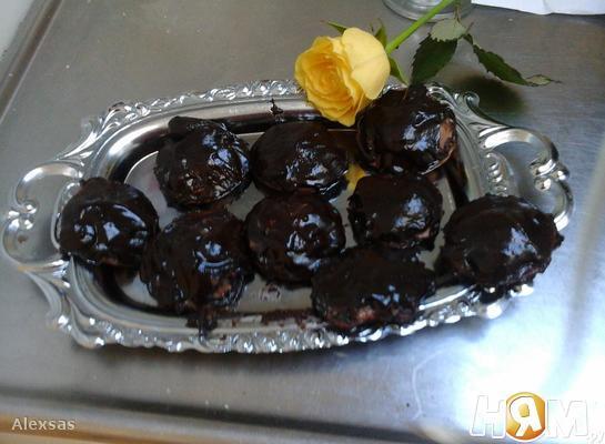 Рецепт Шоколадные бисквиты