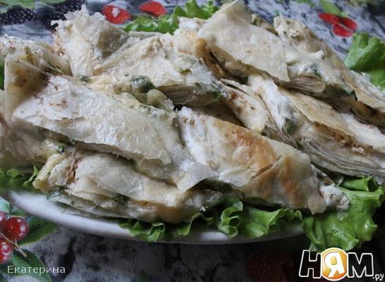 Рецепт Рулеты из лаваша с сыром и зеленью