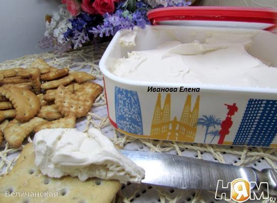 Домашний крем - сыр