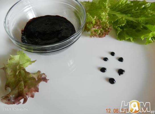 Черничный бальзамический соус