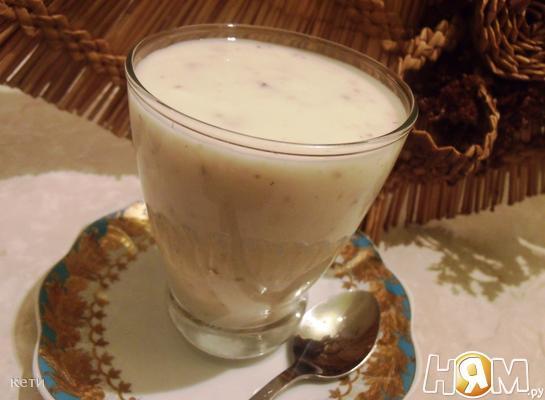 Прохладительный десерт из мацони