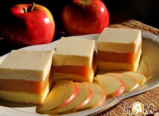 """Яблочное пирожное """"Адам и Ева"""""""