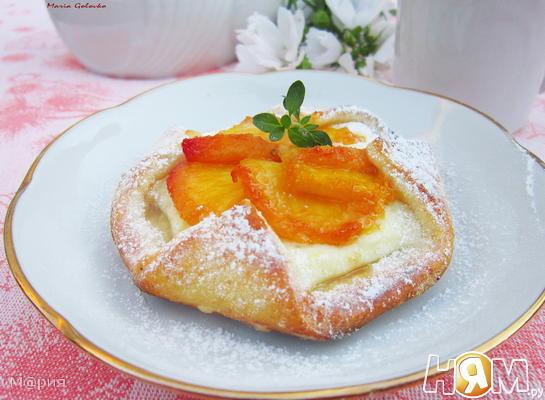 Персиковые ватрушки