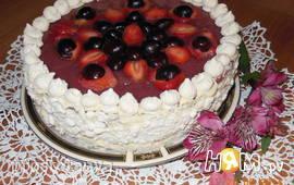 """Творожно-сметанный слоёный торт """"Настёна"""""""