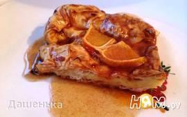 Греческий апельсиновый пирог (Портокалопита)