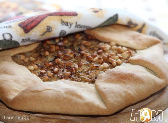 Рецепт Галета с капустой и кедровыми орешками
