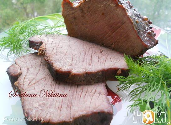 Рецепт Пряная говядина по - чешски