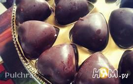 Шоколадные конфеты из подручных материалов