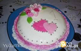"""Бисквитный тортик """"Мое первое чудо"""""""
