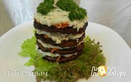 Печеночные тортики а-ля Бешамель