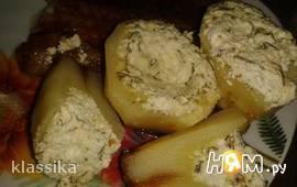 Картофель с фетой в мультиварке