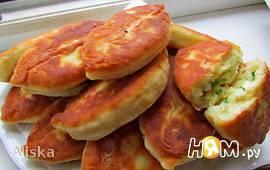 Пирожки на сметанно-кефирном тесте