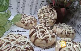 Желейное печенье с вяленой вишней