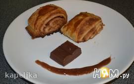 """Слоеное пирожное """"баунти"""""""