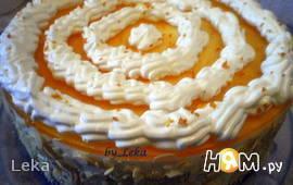 Цитрусово - маковый торт с баварским муссом
