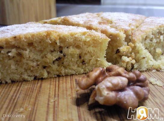 Легкий кофейный пирог на кефире