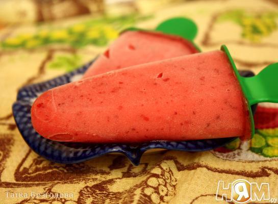 Рецепт Фруктово-ягодное мороженое