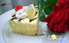 """Пирожное """"Лимонный соблазн"""""""