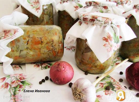 Грибная солянка (заготовка на зиму)