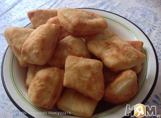 Баурсак и Шелпек Национальный Казахский хлеб