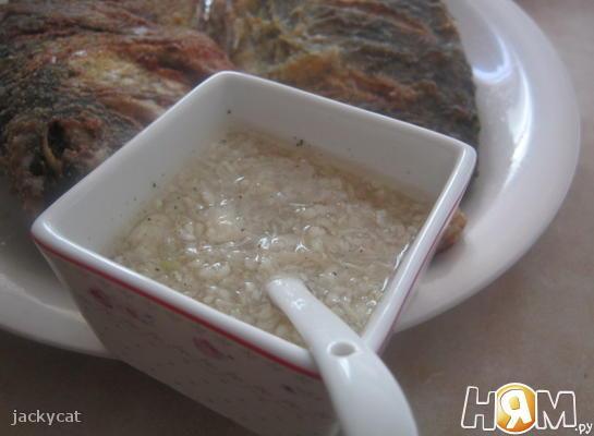 Рецепт Румынский чесночный соус «Муждей»