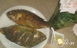 Жареная рыба по-румынски