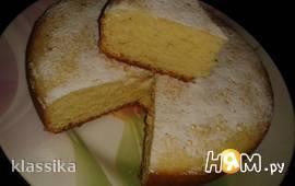 Йогуртово-лаймовый пирог