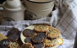 Печенье с маком и сыром