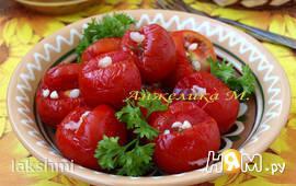 Малосольные помидоры в пакете