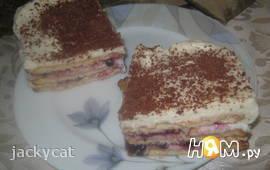 Торт без выпечки «Пятнадцать минут»