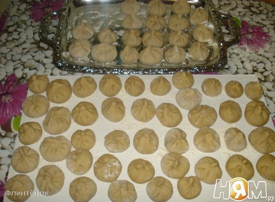 Рецепт Домашние хинкали
