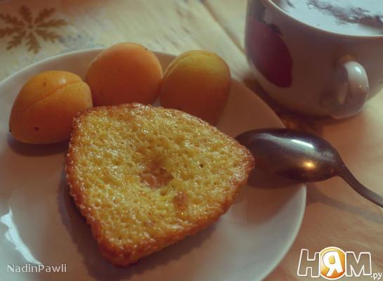 Маффины с абрикосами