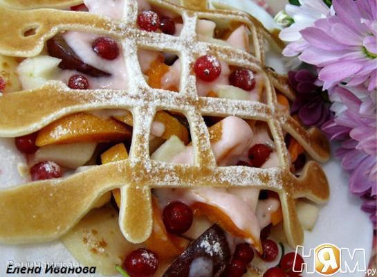 Рецепт Блинчики с йогуртом