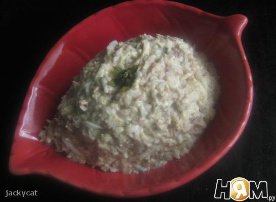 Рецепт Салат из сардин