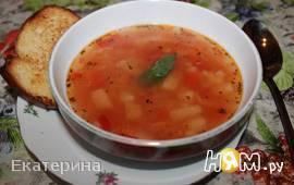 Итальянский томатный суп (постный)