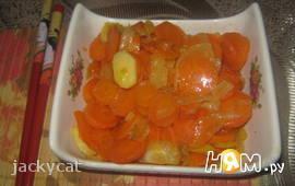 Морковь в ананасовом соке